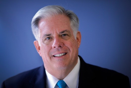 Portrait of Maryland Governor Larry Hogan